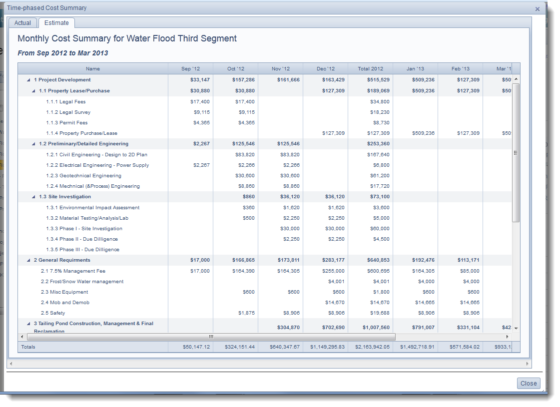 Earned Value Management Software